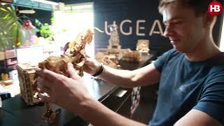 Із села під Києвом на прилавки США: як роблять конструктори Ugears