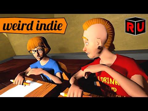 Highschool 101 Game: Exam Cheating Simulator! (UE4 Game Jam Gameplay)