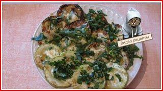 Жареные кабачки - Кабачки с чесноком
