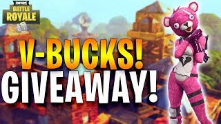 🔴 140 Solo Wins - V-Bucks Giveaway! - Fortnite Battle Royale! (150 Likes!?)