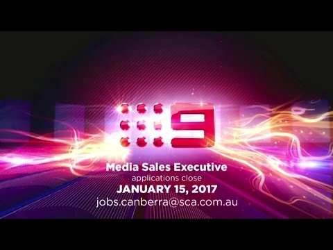 Channel Nine Canberra - Media Sales Executive Promo (January