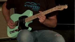 """Fender Custom Shop Dealer Select Wildwood """"10"""" 1951 Nocaster NOS  •  SN: R12042"""