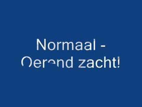 Normaal - Oerend Zacht