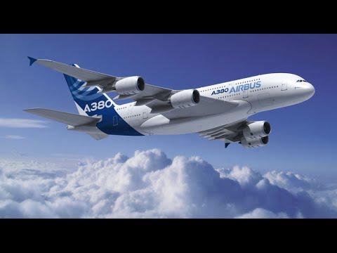 Airbus A 380 Bangkok HongKong空客A380曼谷香港  Kōng kè A380 màngǔ xiānggǎng