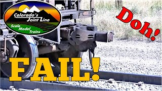 BNSF Coal Train Breaks a Coupler on the Joint Line