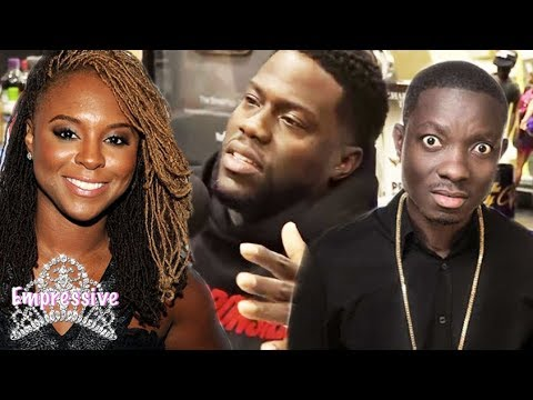 Kevin Hart shades exwife Torrei Hart and Michael Blackson on the Breakfast Club