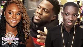 Kevin Hart shades ex-wife Torrei Hart and Michael Blackson on the Breakfast Club