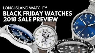 Black Friday Watches Sale Preview from Long Island Watch - 2018 Online Deals!