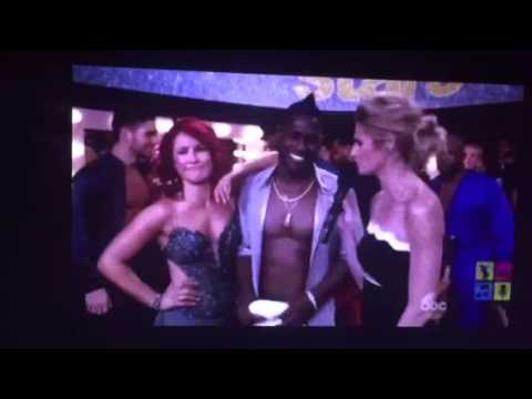 Antonio Brown Tells #DWTS Erin Andrews Of Boner Control Problem