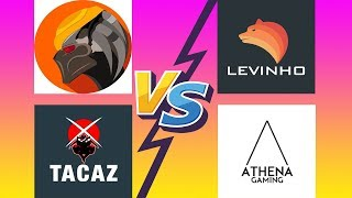 INSANE FIGHTS PUBG MOBILE | ATHENA vs TACAZ vs PREDATOR vs LEVINHO | WHO IS BEST PUBG Mobile PLAYER