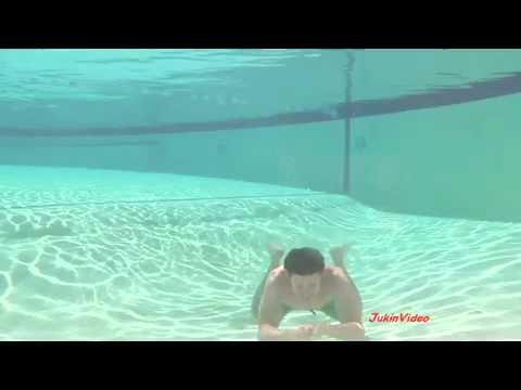 Underwater Swim, Face Hits Wall 960