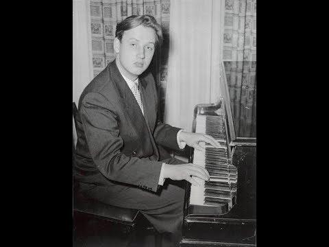 Evgeny Malinin plays Grieg Piano Concerto, op. 16 - live 1950s