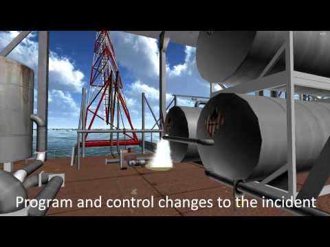 RescueSim Offshore Incident Management Module