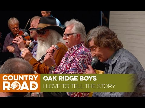 "Southern Gospel Music of Oak Ridge Boys singing ""I Love to Tell the Story"" [Live]"