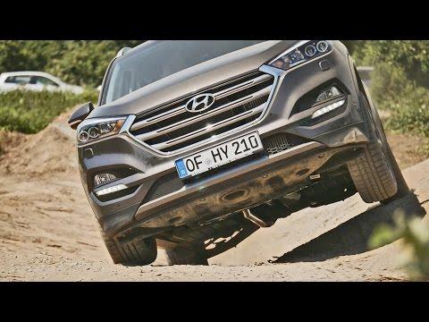 Hyundai Tucson 2016 OFFROAD Review