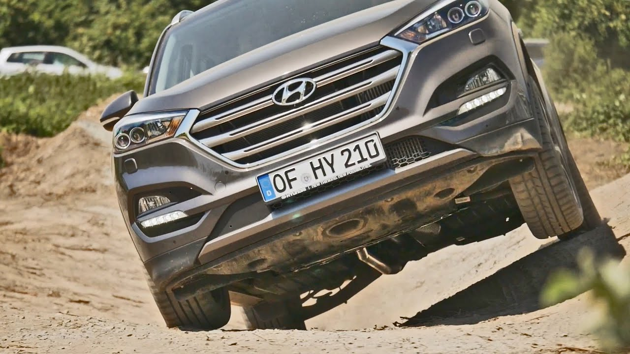 Hyundai Tucson 2016 Offroad Review Youtube