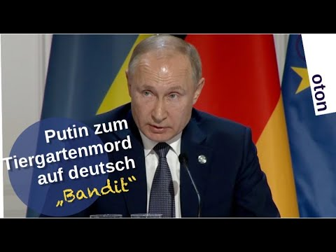Putin zum Tiergartenmord in Berlin auf deutsch -
