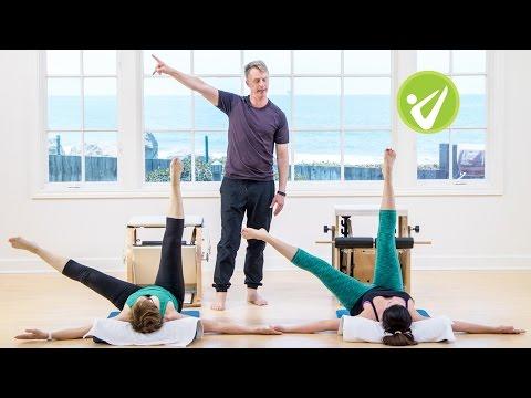Pilates Intermediate Wunda Chair Workout  Jonathan Oldham