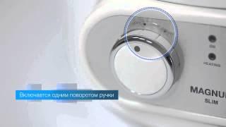 видео Электрический накопительный водонагреватель Electrolux EWH 30 Magnum Slim