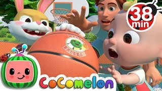 Basketball Song + More Nursery Rhymes & Kids Songs - CoComelon