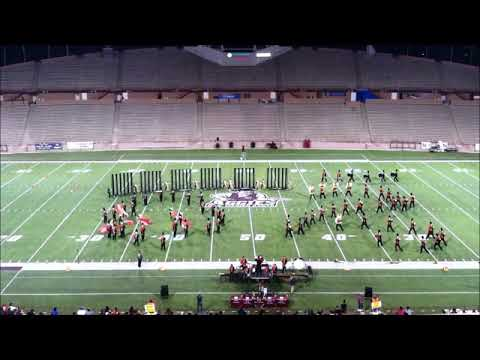 Las Cruces High School Showcase Band: finals performance at 2018 NMTOB
