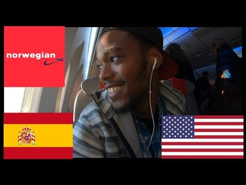 Norwegian Air Barcelona to Oakland. Premium Service! Trip Re
