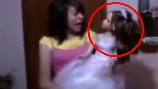 10 Dolls Caught on Camera with Real Paranormal Activities