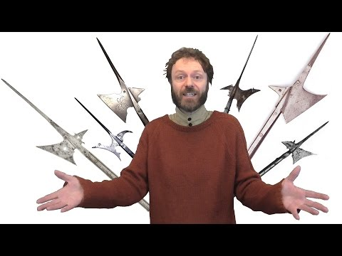 Halberds - why were they that shape?