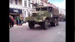 Weymouth, Armed Forces Day, Military Vehicle Parade. Sun 24th June 2012