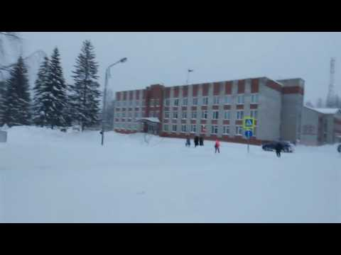 Красновишерск Зимой 31.12.2016