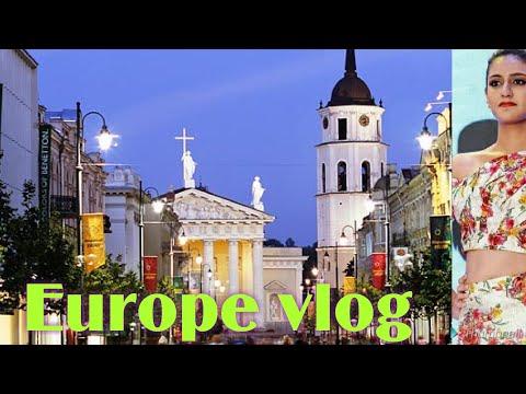 Europe vlogs/ vilnius/viral vlogs/ you should watch