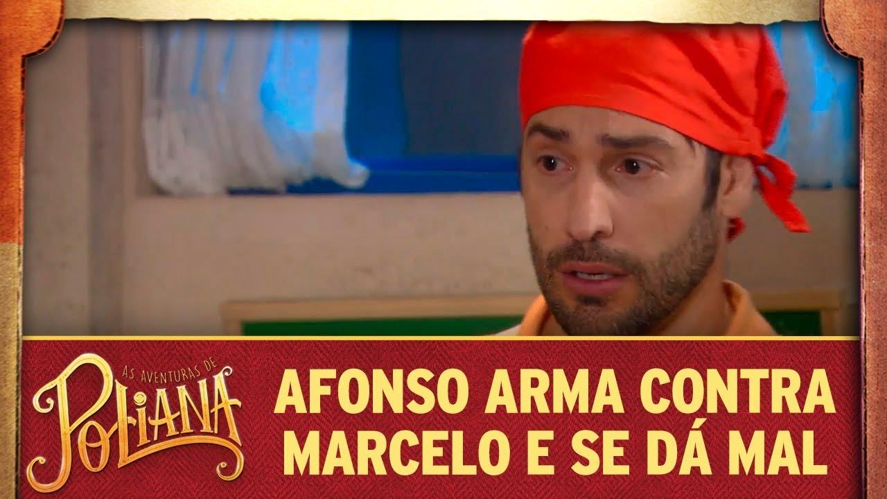 Afonso arma contra Marcelo e se dá mal | As Aventuras de Poliana