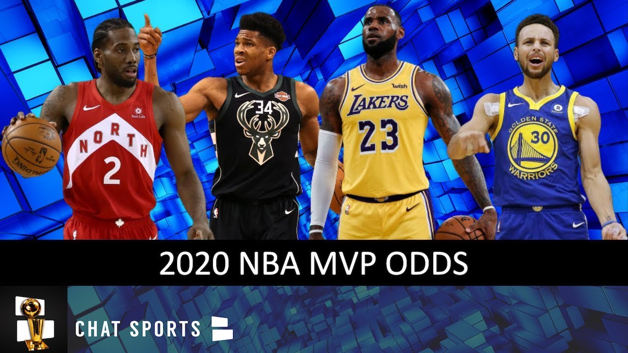 Nba Mvp Odds For The 2019 20 Season Feat Giannis Stephen Curry Lebron James Luka Doncic