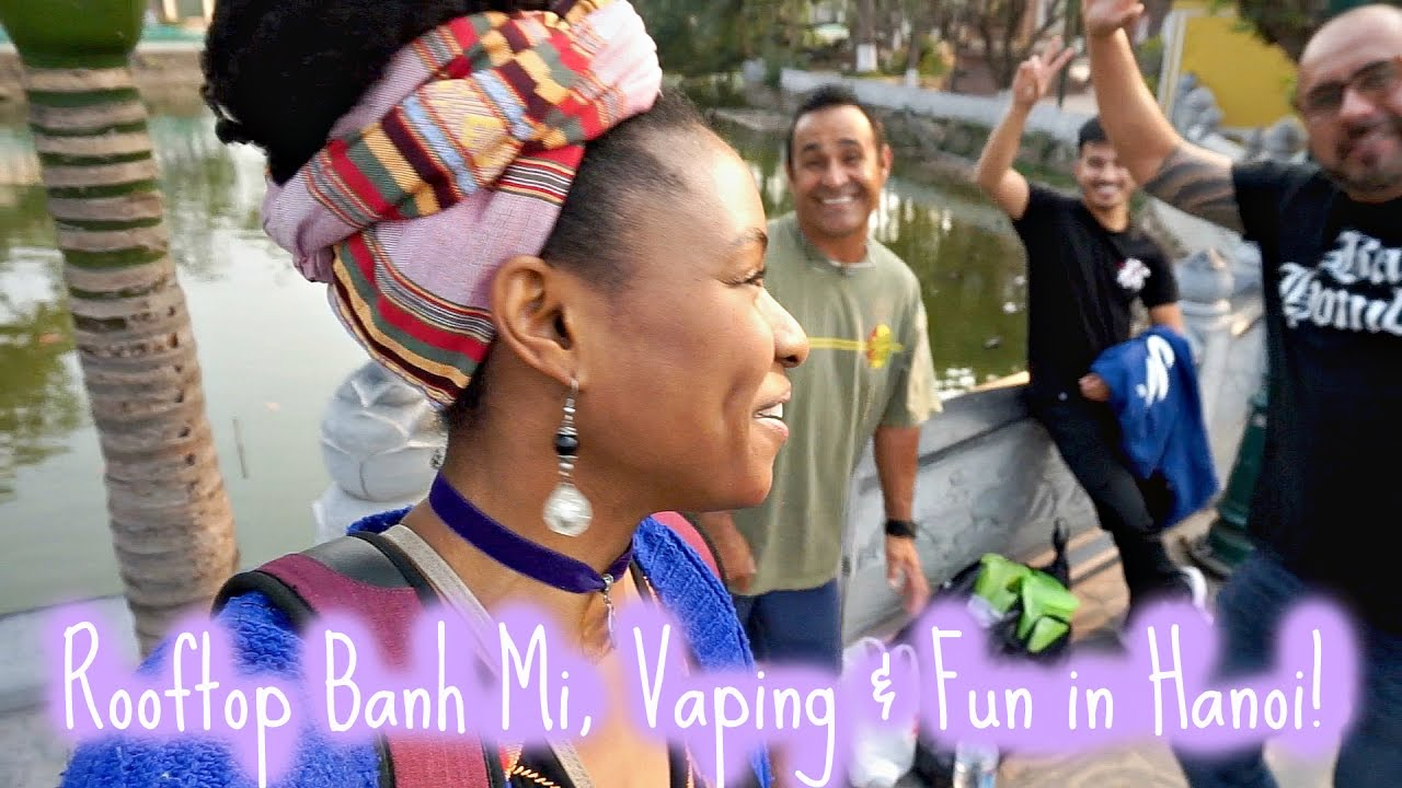 Balcony Banh Mi, Vaping & Fun in Hanoi | Travel Vietnam