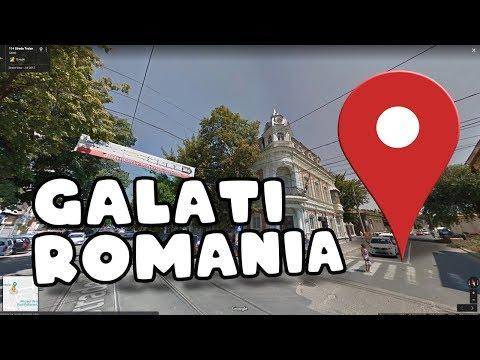Let's go for a drive through Galati Romania