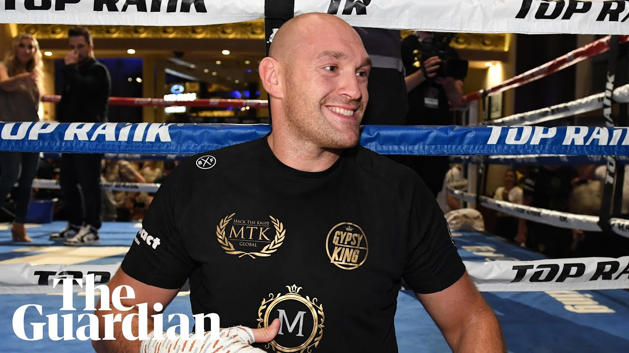 Tyson Fury Promises To Leave Tom Schwarz In A Heap On The Floor After Heavyweight Fight