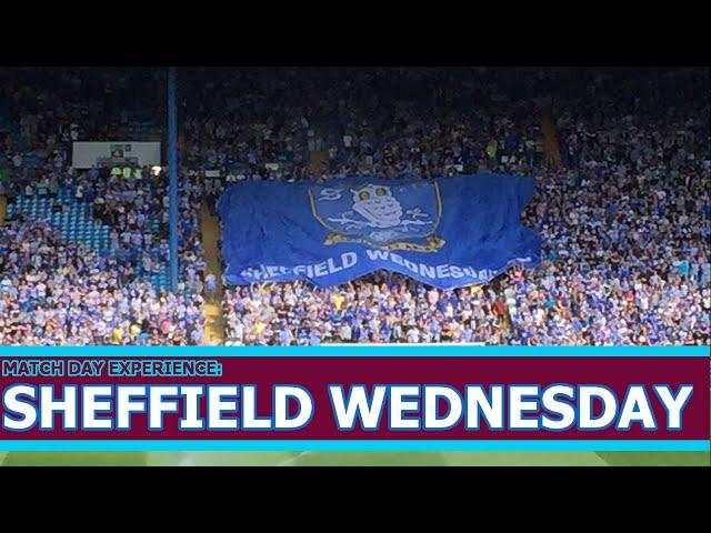 Sheffield Wednesday vs Aston Villa 1-0 Match Day Experience