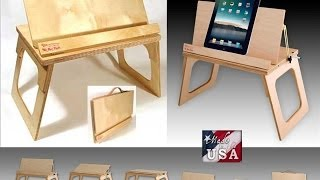 "The Bed Desk,""the Perfect Gift"", 21+ Uses, New Video...priceless! Usa Handcrafted-thebeddesk.com"