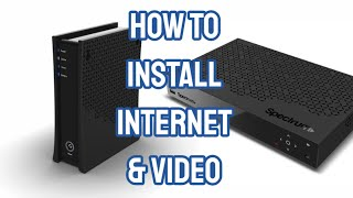How To Install Spectrum Internet And Cable TV Using A 2 Way Splitter