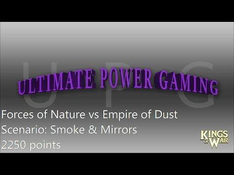 Kings of War Battle Report #71: 2250 points. Scenario Smoke & Mirrors