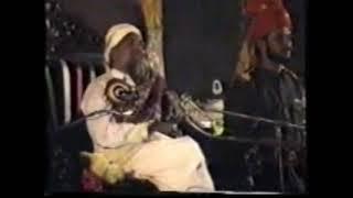 His Majesty Sayedina Riaz Ahmad Gohar Shahi(M.A) addressing in  Allah Hoo conference 1 6 1995 Pindi