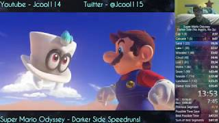 [WR] Super Mario Odyssey -  503 Moons (Darker Side) Speedrun - 3:48:49