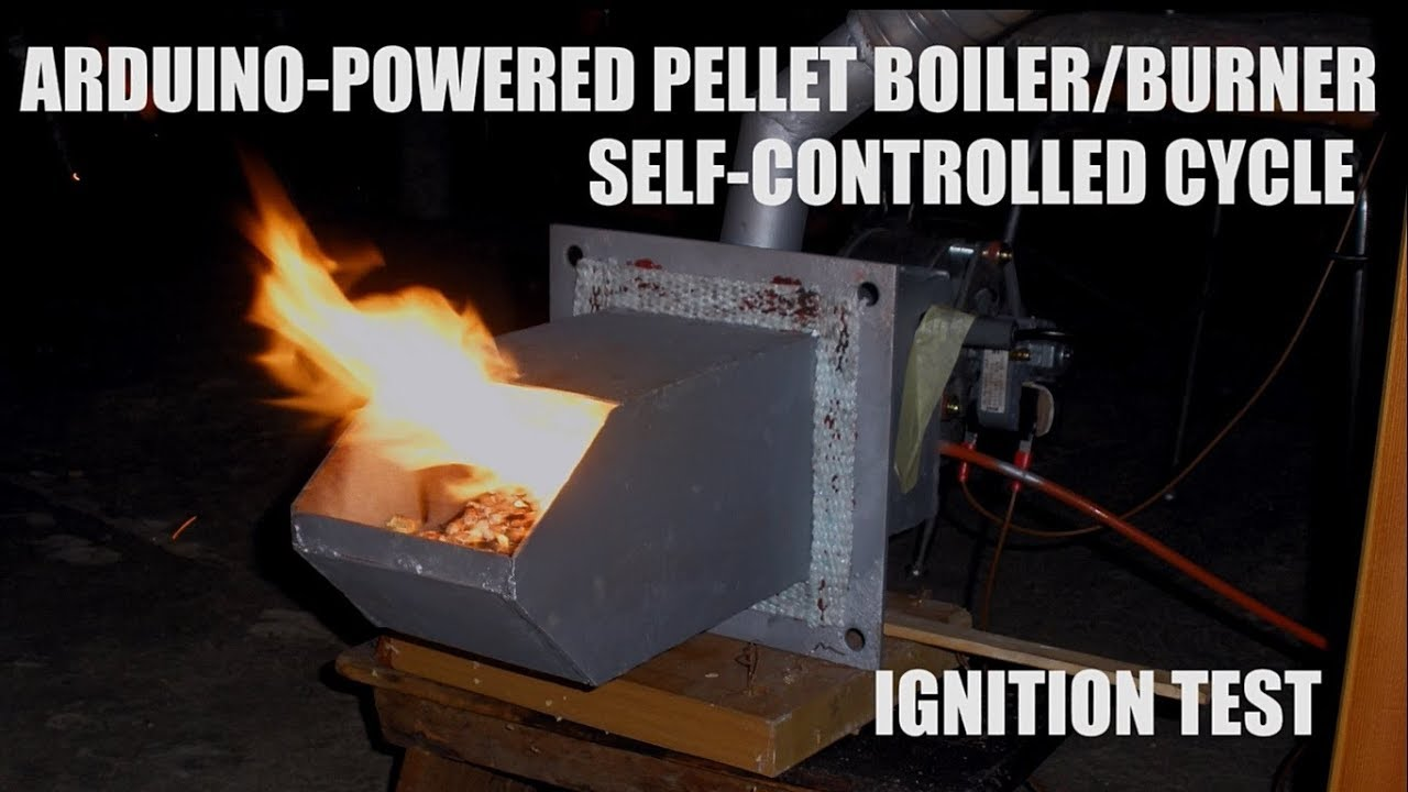ARDUINO-Powered Pellet Burner/Boiler