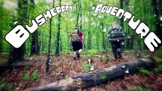 3 Day Bushcraft Camp in a Summer Storm - The Movie
