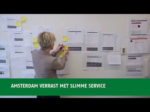Amsterdam verrast met slimme service