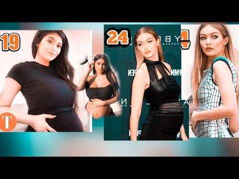 Celebrities That Got Pregnant Under 25 |kylie jenner|