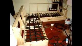Sofá de canto feito em casa.wmv