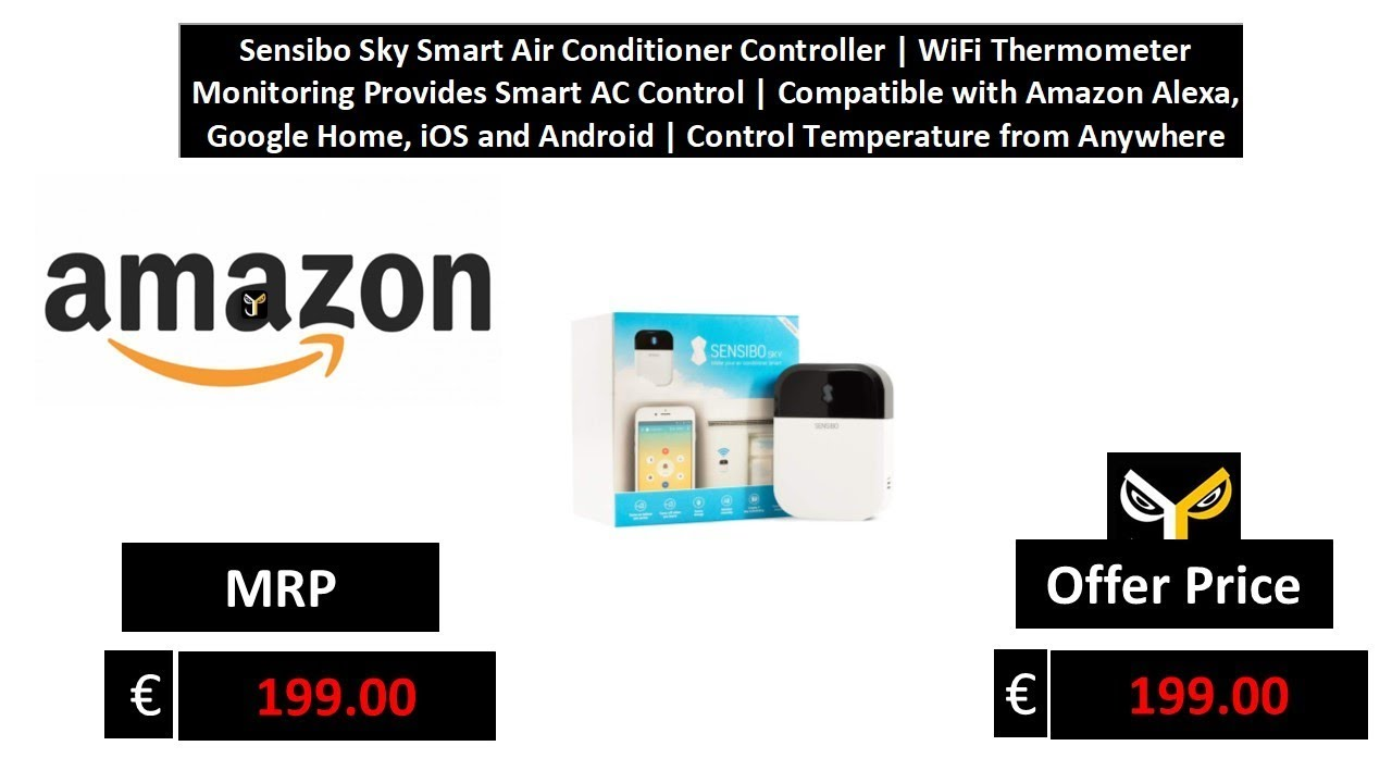 Sensibo Sky Smart Air Conditioner Controller WiFi Thermometer