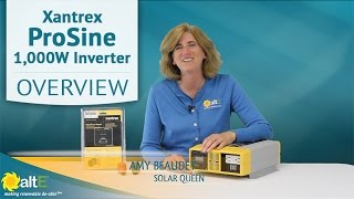 Xantrex ProSine 1000W Pure Sine Wave Inverter | Product Overview