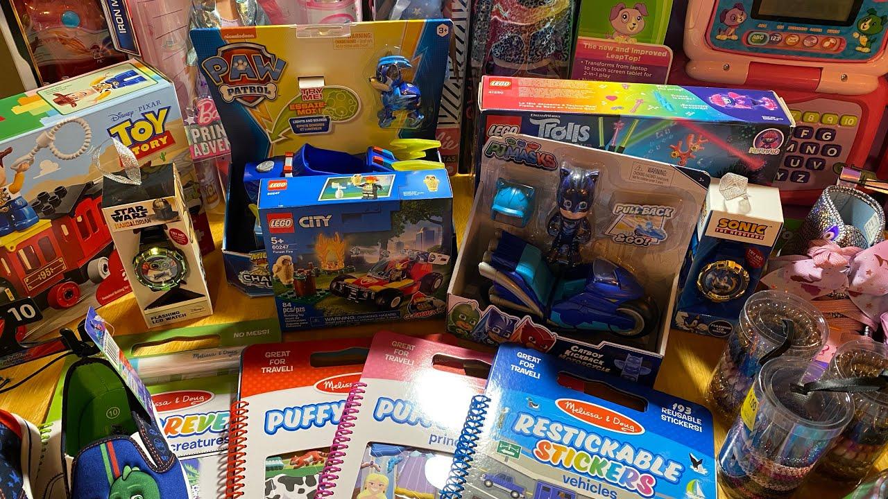 Christmas Shoe Boxes 2021 Operation Christmas Child Occ Shoebox Walmart Toy Clearance Haul 2021 Youtube